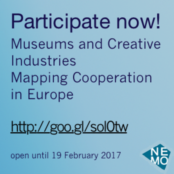 Survey: Museums and Creative Industries - please participate and